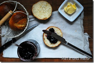 Süße Buttermilch-Brötchen