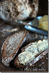 Ahornsirup-Haferflocken-Brot