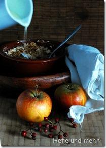 Apfelauflauf