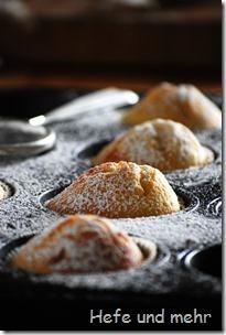 Weiße Schokolade Muffins