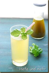 Ingwer-Basilikum-Limonade