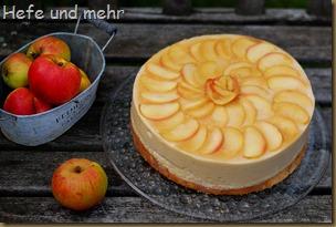 Apfelmousse-Torte (2)