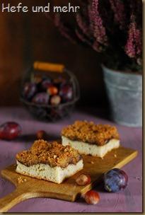 Herbstlicher Streuselkuchen