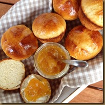 Milchbroetchenmuffins