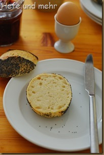 Mohnbrötchen mit süßem Starter (2)
