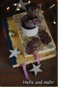 Schokoladen-Kardamom-Sables