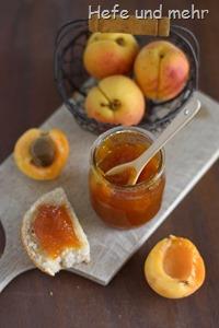 Aprikosenmarmelade ohne Gelierzucker