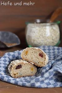 Glutenfreie Müslibrötchen (2)