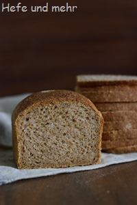 Vollkorn-Sandwichbrot (Backversuch (1)