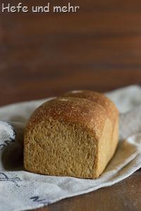Vollkorn-Sandwichbrot (Backversuch (2)