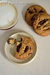 Chocolate Chunk Cookie mit Buchweizen (2)