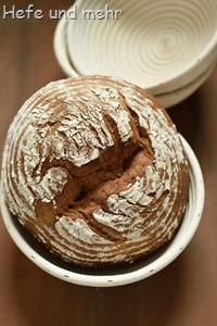 Joghurt-Vollkornbrot mit Honig (2)
